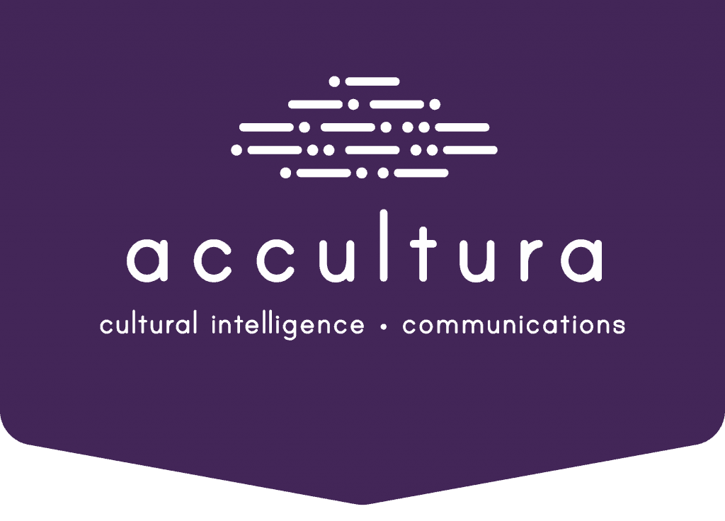 Accultura signature with cultural intelligence and communications